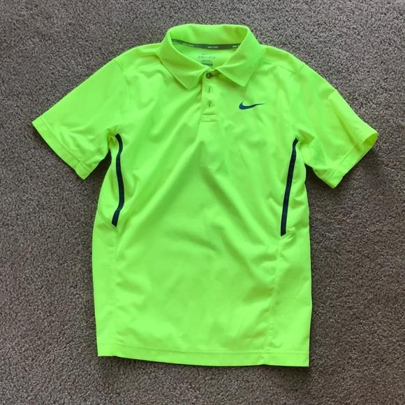 Tops | Bright Yellow Polo Shirt | Poshmark